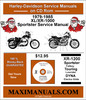 Thumbnail 1979-1985XL/XR-1000 Sportster Service Manual
